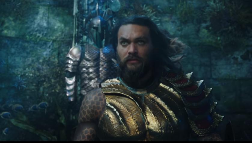 """Kadr ze zwiastuna filmu """"Aquaman"""""""