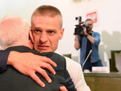Tomasz Komenda został uniewinniony. Tak cieszył się po ogłoszeniu wyroku