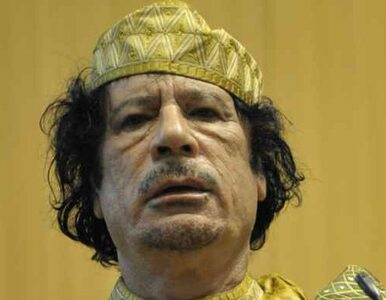 Międzynarodowy Trybunał Karny chce sądzić Kadafiego