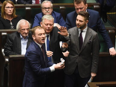 Spięcie w Sejmie. Nitras chciał dać Kaczyńskiemu dziecięce buciki. Do...