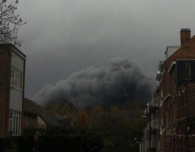 """""""Potencjalnie toksyczna"""" chmura nad Brukselą. Władze apelują do ludzi:..."""