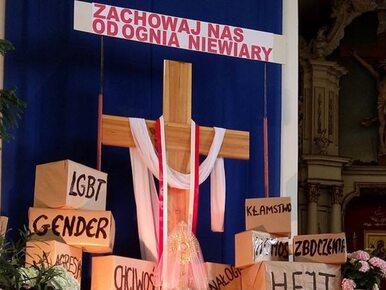 """Płock. Awantura w kościele. Ksiądz miał powiedzieć do geja, że """"jest..."""