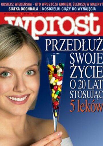 Okładka tygodnika Wprost nr 47/2004 (1147)