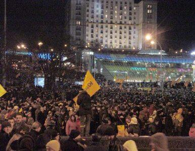 Ukraina: tysiące ludzi na ulicach. Powtórka Pomarańczowej Rewolucji?