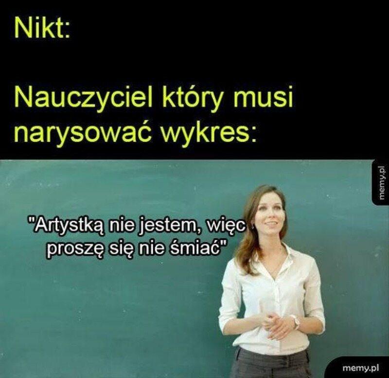 Mem na dzień nauczyciela
