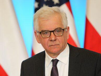 Trzęsienie ziemi w MSZ. Czaputowicz rozwiązał gabinet polityczny