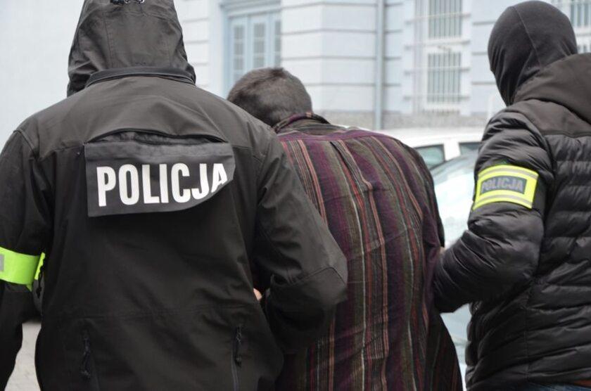 Stefan W. prowadzony do aresztu
