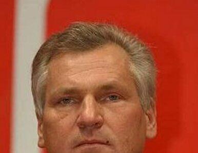 Politycy o nagraniu wykładu Kwaśniewskiego w Kijowie