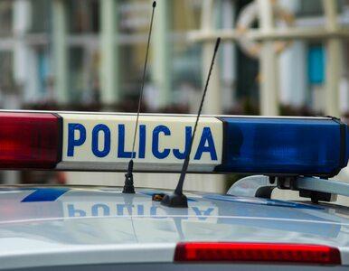 Incydent z udziałem SOP. Motocyklista przestraszył się kolumny i przewrócił