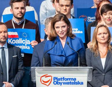Joanna Mucha startuje w wyborach na szefa PO. Ma już swoje hasło