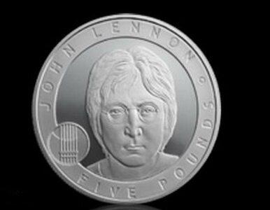 Srebrna moneta Johna Lennona
