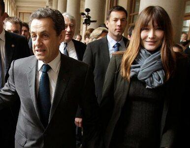 Carla Bruni będzie utrzymywać Sarkozy'ego?
