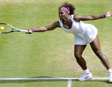 """""""Serena Williams już wygrała Wimbledon. Radwańska? To miła dziewczyna,..."""
