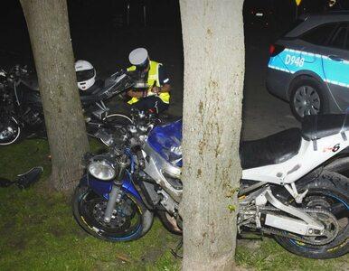Łuków. Wypadek z udziałem dwóch motocykli