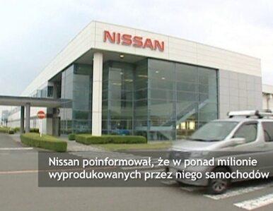 Nissan zainstalował milion wadliwych poduszek powietrznych