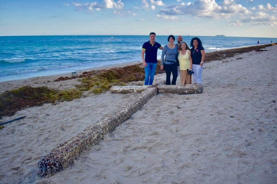 Krzyż znaleziony na Florydzie