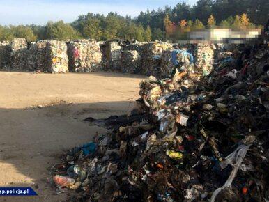 4 tys. ton śmieci nielegalnie trafiło z Niemiec do Polski. CBŚP rozbiło...