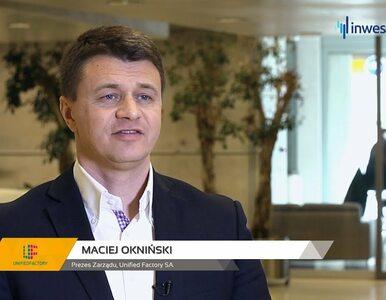 Unified Factory SA, Maciej Okniński - Prezes Zarządu, #200 PREZENTACJE...