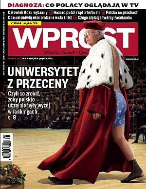 Okładka tygodnika Wprost nr 4/2010 (1408)