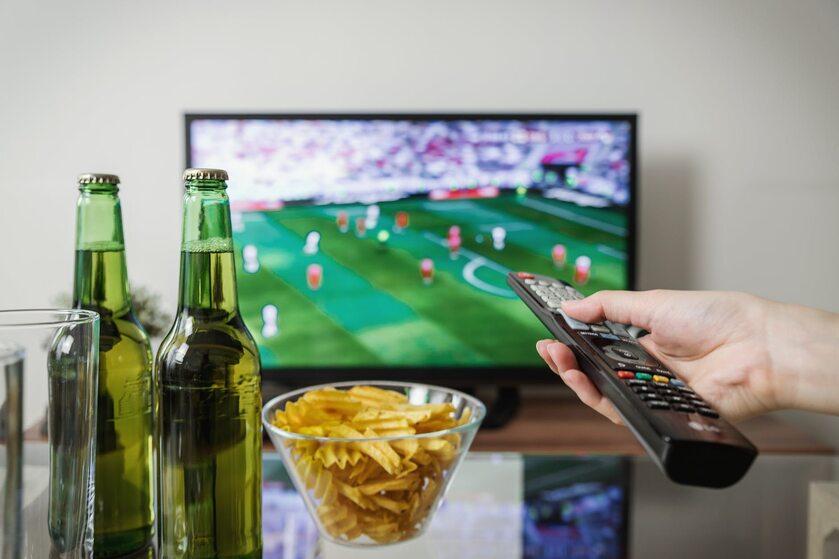 Mecz w telewizji