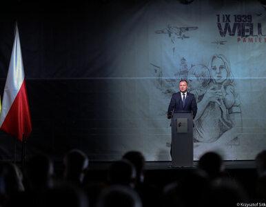 Prezydent Duda przemawiał w Wieluniu. Co przekazał listownie obecnym na...