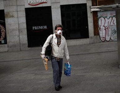 Najtragiczniejsza doba w Hiszpanii. 769 nowych ofiar śmiertelnych...