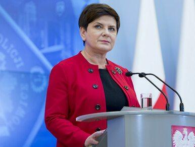 """Beata Szydło o spotkaniu z ministrami. """"Każdy kto ma inny pogląd może..."""