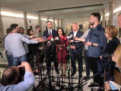 """Opozycja składa wniosek o odwołanie marszałka Sejmu. """"Dość tych..."""