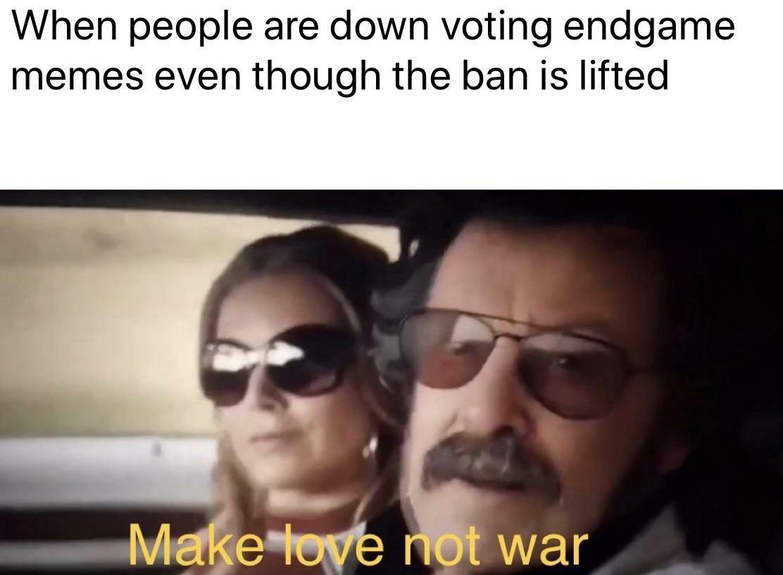 Kiedy mimo zniesienia zakazu na spoilery, memy z Avengersów wciąż są źle widziane