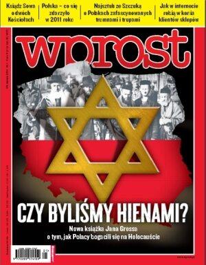 Okładka tygodnika Wprost nr 1/2011 (1456)