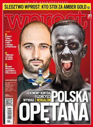 Okładka tygodnika Wprost nr 42/2012 (1548)