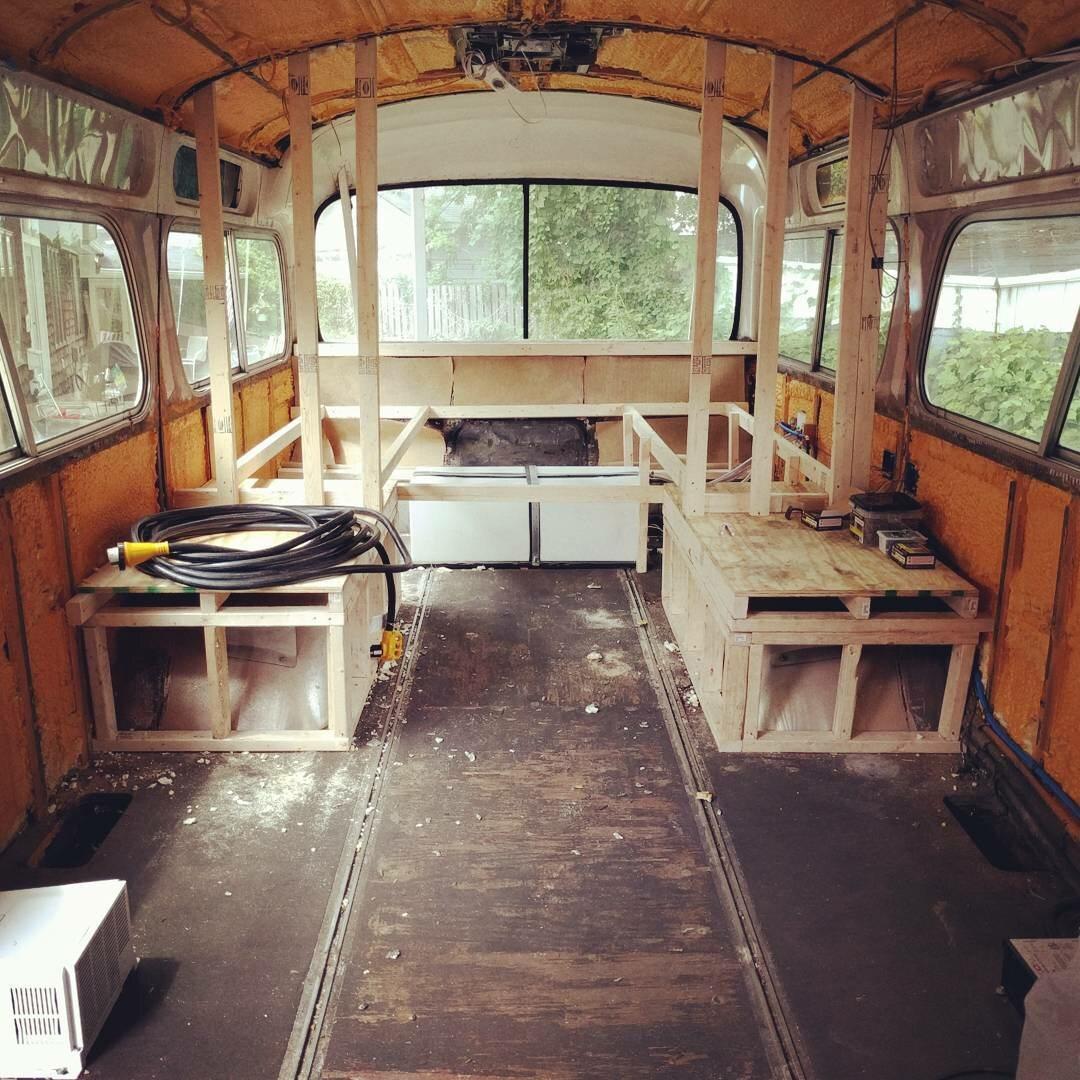 Tak wcześniej wyglądało wnętrze autobusu