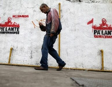"""Chavez """"kupuje"""" sobie głosy pracowników? Wenezuela zmienia prawo pracy"""