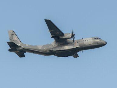 Samolot wojskowy zapalił się podczas lądowania na warszawskim Lotnisku...