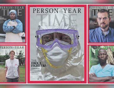 """Działacze walczący z ebolą """"Człowiekiem Roku"""" magazynu """"Time"""""""