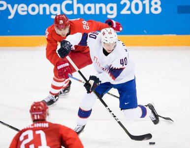 Hokejowa drużyna Olimpijczyków z Rosji coraz bliżej złota. Rosjanie...