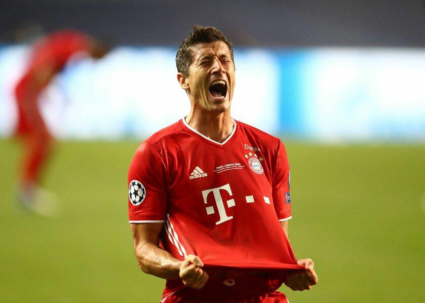 Robert Lewandowski po meczu z PSG