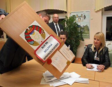 Białoruś zdecydowała: parlament bez opozycji