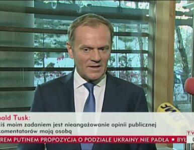 Tusk: Wysłałem pismo ws. zrzeczenia się mandatu poselskiego