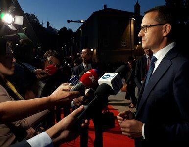Premier Morawiecki o rozmowach z Junckerem i prof. Gersdorf