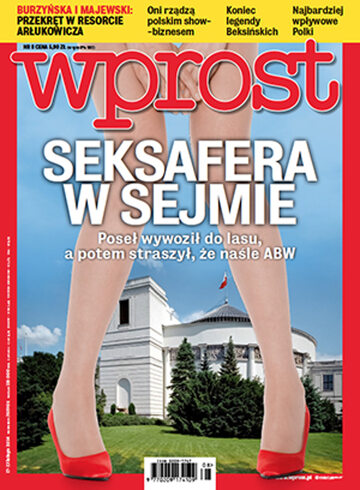 Okładka tygodnika Wprost nr 8/2014 (1616)