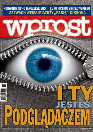 Okładka tygodnika Wprost nr 11/2004 (1111)