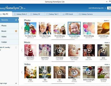 Samsung HomeSync Lite - rodzinne multimedia zawsze przy Tobie