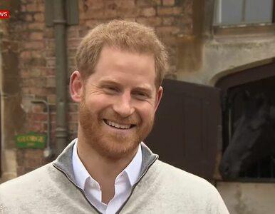 Meghan Markle urodziła synka. Wzruszony książę Harry porozmawiał z mediami