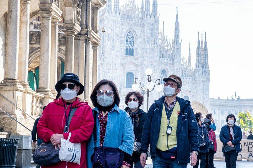 Włochy. Środki ostrożności przed koronawirusem