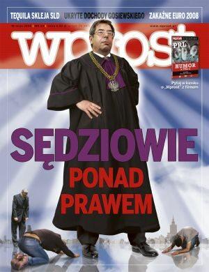 Okładka tygodnika Wprost nr 20/2008 (1325)