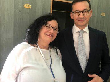 Siostra premiera Morawieckiego nie zostanie burmistrzem