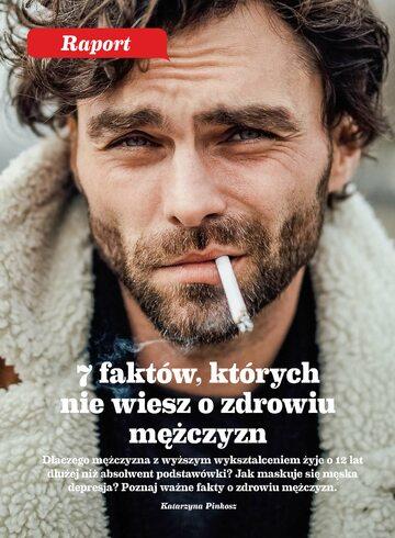 Okładka Raport Wprost  – Zdrowie Polaków (2019 r.)
