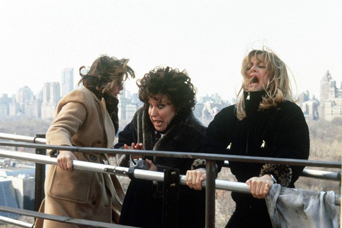"""Goldie Hawn, Diane Keaton i Bette Midler w filmie """"Zmowa pierwszych żon"""" (1996)"""