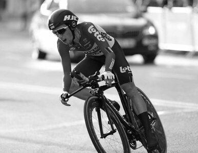 22-letni kolarz zginął w trakcie Tour de Pologne. Zmiany w programie...